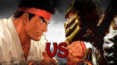 RYU VS SCORPION THE RAP BATTLE