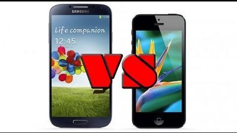 IPhone 5 vs Galaxy S4 THE RAP BATTLE