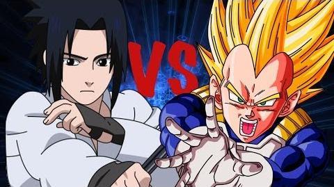 Vegeta vs Sasuke THE RAP BATTLE