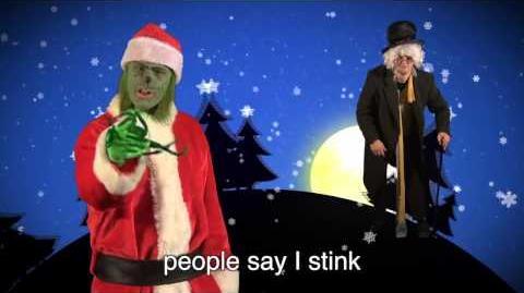 Scrooge vs The Grinch. Epic Rap Battles of Christmas