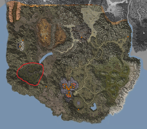 Map - Katan Area - Sinking Swamp