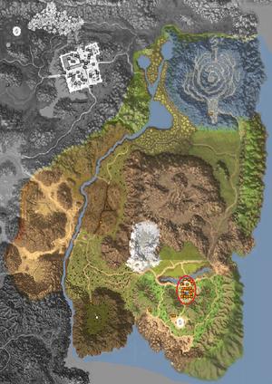 Map - Horizon Area - Horizon