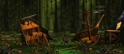 Krem Quay - Overworld - Donkey Kong Country 2 (SNES)