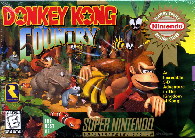 File:Donkey Kong Country - North American Boxart.png