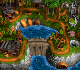 File:Mekanos - World Map - Donkey Kong Country 3.png