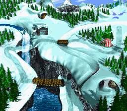 File:K3 - World Map - Donkey Kong Country 3.png
