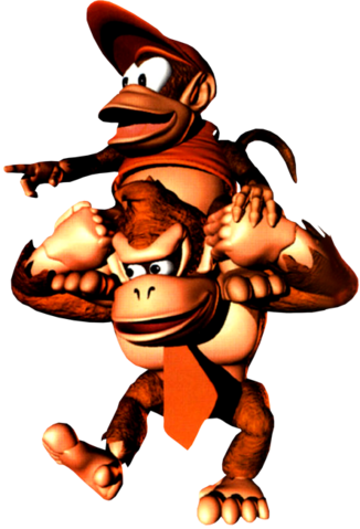 File:Group Art 2 - Donkey Kong Country.png