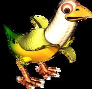 Banana Bird Artwork (Donkey Kong Country 3)