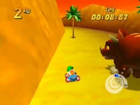 File:Tiptup trying to race Tricky the Triceratops.jpg
