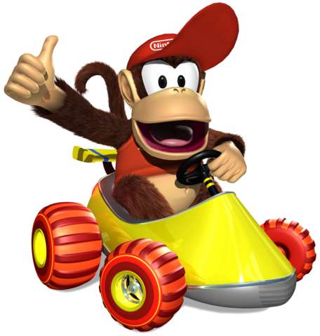 File:Diddy Kong Artwork - Diddy Kong Racing DS.png