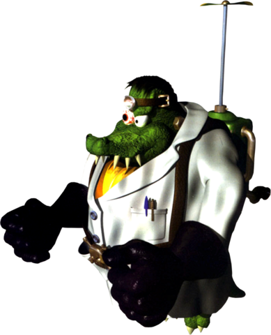 File:Baron K. Roolenstein - Donkey Kong Country 3.png