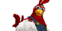 Drumstick the Rooster