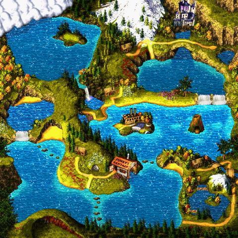 File:Northern Kremisphere - World Map - Donkey Kong Country 3.png