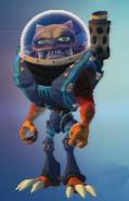 QForce skin - Grungarian Soldier