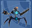 Robot de Seguridad de Megacorp I - Modelo Motosierra