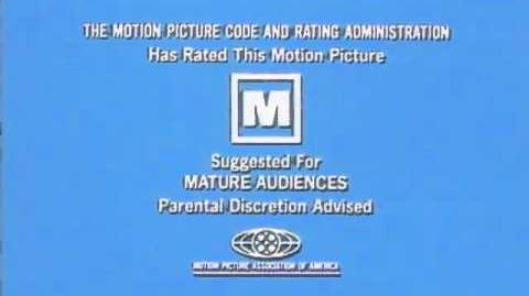 Mature Audiences MPAA bumper 1968
