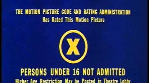 X MPAA 1968
