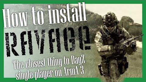 How to install Ravage (0.1.36) on ArmA 3