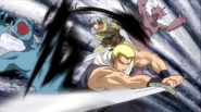 King and Gale defeat some Demons