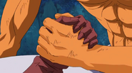 Gale and King shake hands