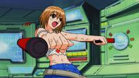 Elie uses her Tonfa Blasters