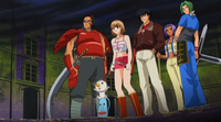 The team saves Haru