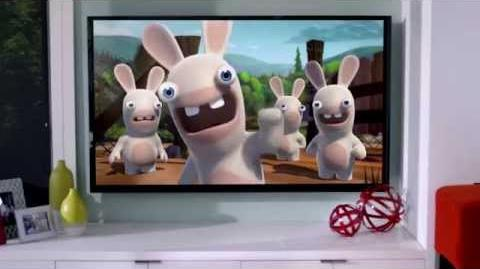 Rabbids Invasion The Interactive TV Show Announcement Trailer US
