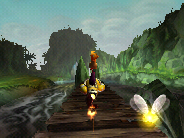 File:Rayman, riding shell.png