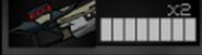 Grenade launcher clips