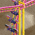 Multi-Dimension Roller Coaster RCT2 Icon
