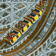 Wooden Roller Coaster RCT2 Icon