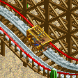 Stage Coach Rollercoaster RCT2 Icon