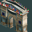 European Park Entrance RCT2 Icon