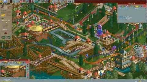 Roller Coaster Tycoon Gentle Glen Timelapse