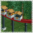 Small Monorail Cars RCT1 Icon