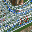 Heartline Twister Coaster (starting reversed) RCT2 Icon