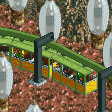 Suspended Monorail RCT2 Icon