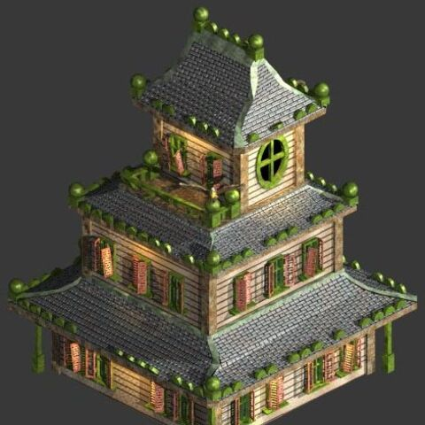 Original Haunted House render by <a href=