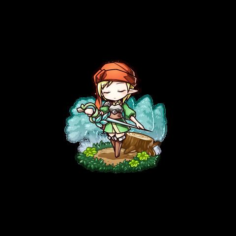 Kirue in the mobile game