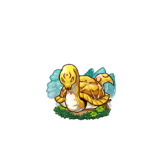 A Gold Turtle Snake (used only to strengthen other units or for selling)