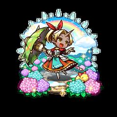 Auro (Rainbow Princess after the Rain) as a Magic Gun User as an Ogre Mixblood