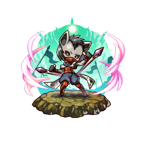 Hyelda (Black Speckled Fang General) in the mobile game