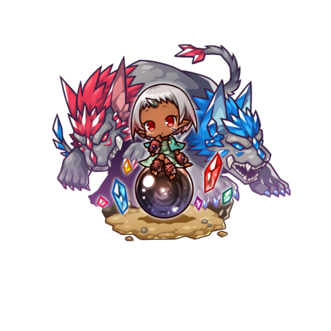 Opushii in the mobile game