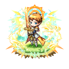 Sigurd (Hero of Sunlight) after succeeding on his revenge