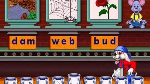 Reader Rabbit 1 Gameplay (1996 Windows Version)