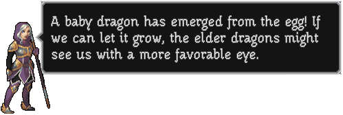 Advisor-dragon hatch-message