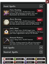 Mercerairy spell choice