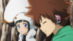 Tsuna Reluctantly Agrees