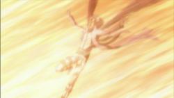 Byakuran Struck By The X-Burner