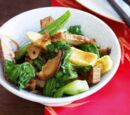 Chinese Vegetables and Tofu